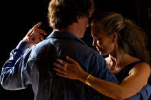 Patrick and Lori Dancing Tango